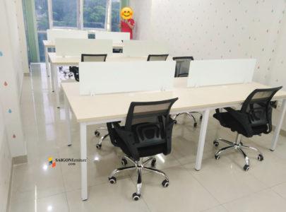 Lý do nhiều văn phòng sử dụng cụm bàn làm việc