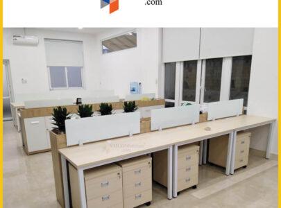 Thiết kế, thi công nội thất văn phòng Công ty BĐS Hồng Đức Land