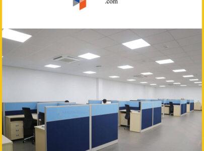 Thiết kế, thi công nội thất văn phòng Công ty Huynjin Vina